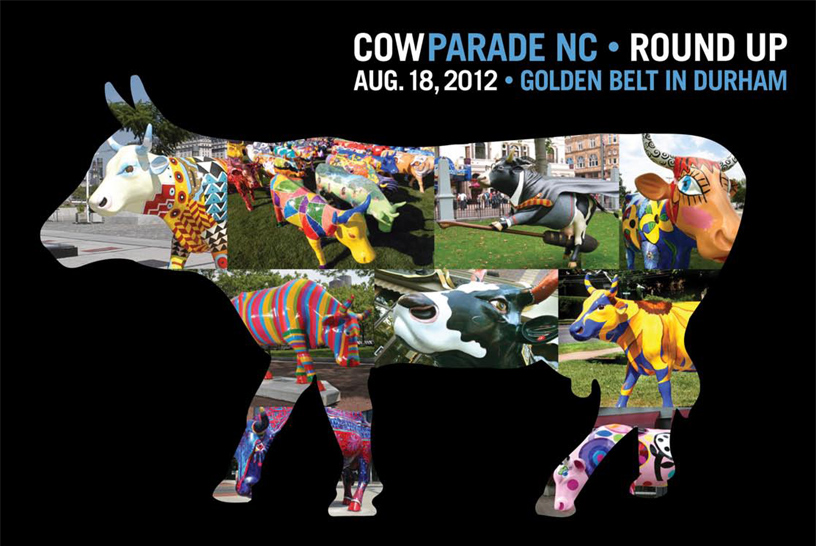 cow parade nc invitation