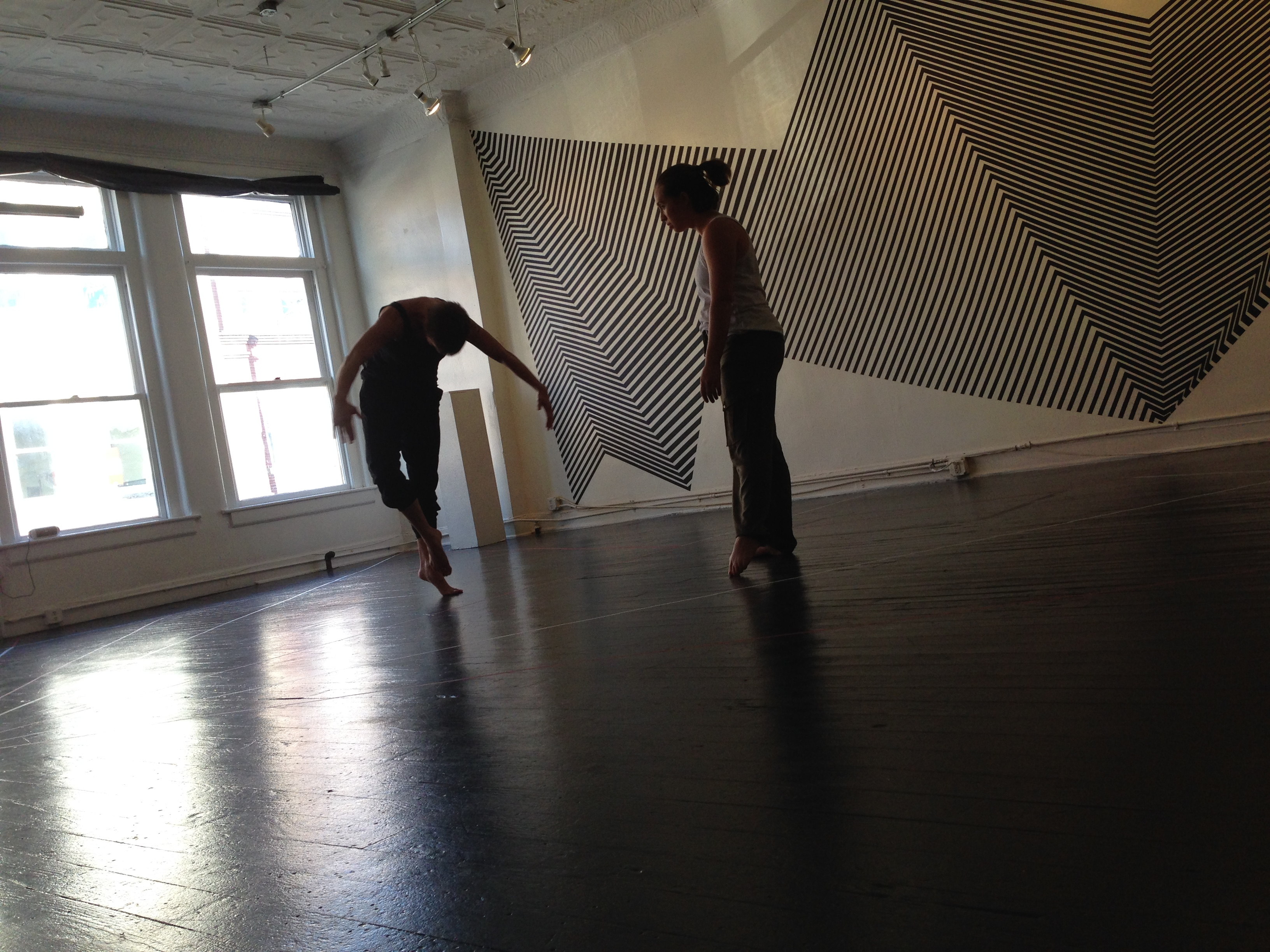 KIN performance at The Carrack, a collaboration between Justin Tornow and Heather Gordon